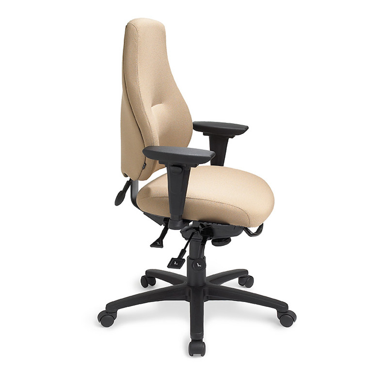 mycentric person high back chair seat slider