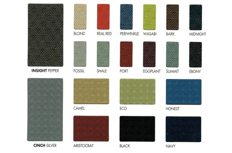 ergoCentric Insight Cinch Fabrics