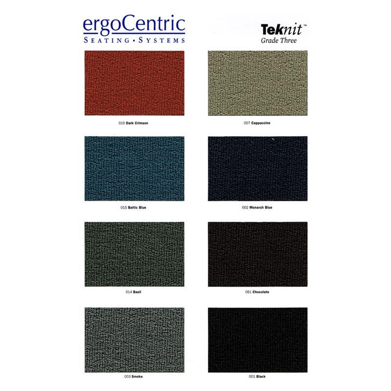 ergoCentric Teknit Fabrics
