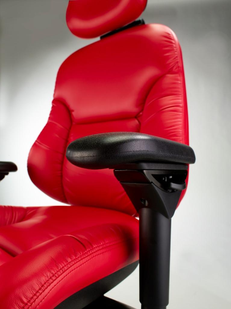 Bodybilt Tall Person High Back Chair W Air Lumbar Cessi