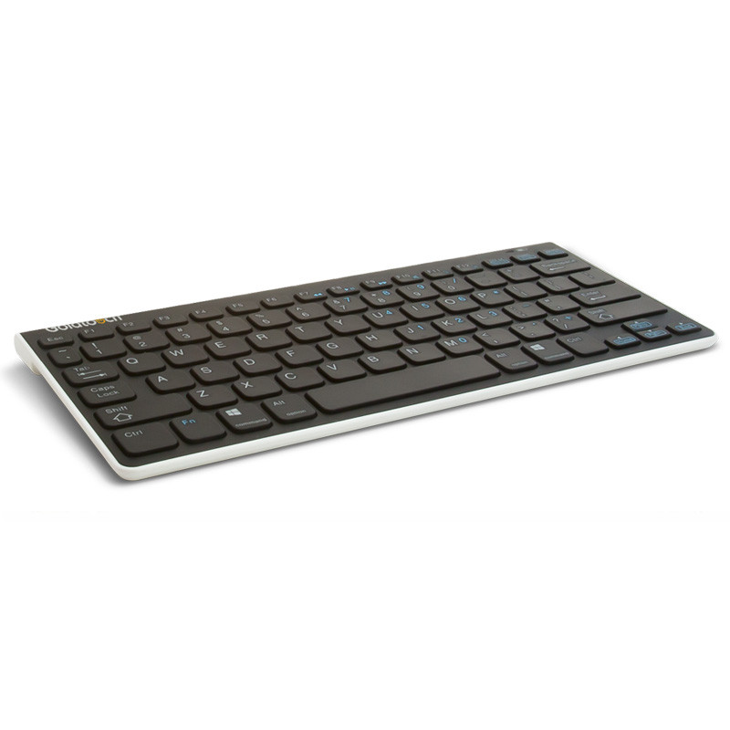 goldtouch wireless bluetooth mini keyboard black cessi ergonomics. Black Bedroom Furniture Sets. Home Design Ideas