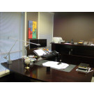AE2400 - Wood Veneer - Executive OFFICE - Electric Sit to Stand Technology
