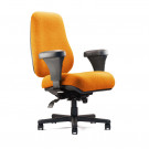NPE BTC10100 Big & Tall Chair - Angled View