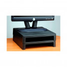 "VU4855 2"" High Monitor Riser - Black"