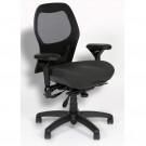 Bodybilt J2607 Mesh Back Chair - Angled View