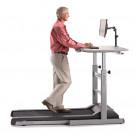 Lifespan DT5 Manual Height Adjustable Treadmill Desk