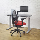 upCentric with Monitor Arm and Chair