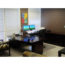 Executive Desk with Computer Return - Sit Position