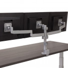 Workrite Conform Triple Monitor Arm - Rear View