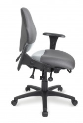eForce Police Multi-Tilt Ergonomic Mid Back Task Chair
