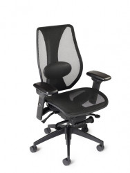 tCentric Hybrid All Mesh Chair with Lumbar Support