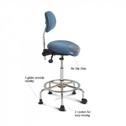 3 in 1 Sit Stand - Sit, Lean or Stool Height Chair