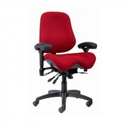 J2502-SS BodyBilt Ergonomic High Back Chair with EXTRA Contour Seat