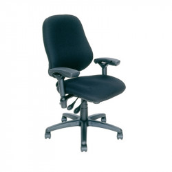 J2508-SS BodyBilt Ergonomic High Back Chair - No Pommel (Contour) Seat