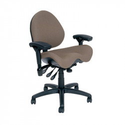 J752-SS BodyBilt Ergonomic Mid Back Task Chair with EXTRA Contour Seat