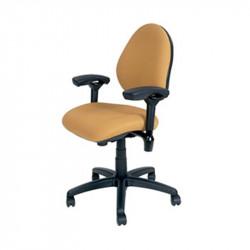 J758-SS BodyBilt Ergonomic Mid Back Task Chair