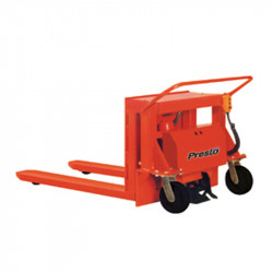 """Portable Container Tilter - 42"""" I.D. Straddle - 4000 Lbs"""