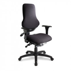 eForce Police Task Intensive (24 Hour) Ergonomic High Back Task Chair