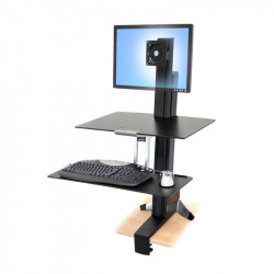 Ergologic Sit to Stand Surface Mounted Desk