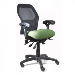 J2606-SS BodyBilt Ergonomic Mesh High Back Chair - Petite Size