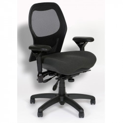 J2607SS BodyBilt Ergonomic Mesh High Back Chair
