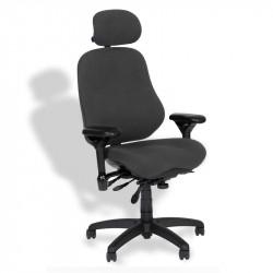 J3507-SS BodyBilt Executive Ergonomic High Back CHAIR with Headrest