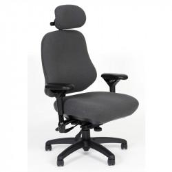 "J3509-SS BodyBilt ""TALL"" Person - Ergonomic High Back Stretch  CHAIR with Headrest"