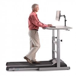 Lifespan DT5 Manual Height Adjustable Treadmill Desk