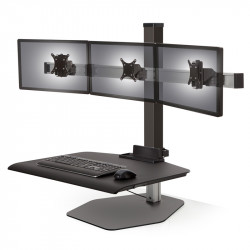 Innovative Winston Sit Stand Extended Desktop Workstation