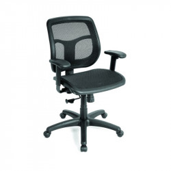 ErgoLogic Conference Room Chair - Mesh Seat and Back  - Casters